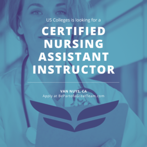 us-colleges-certified-nursing-instructor